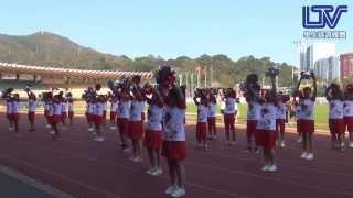 2013-2014年羅定邦中學運動會誠社啦啦隊