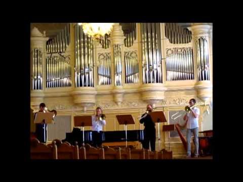 Serocki - suite for 4 trombones