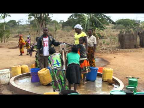 Fresh Water Joy! - Drilling wells for clean water