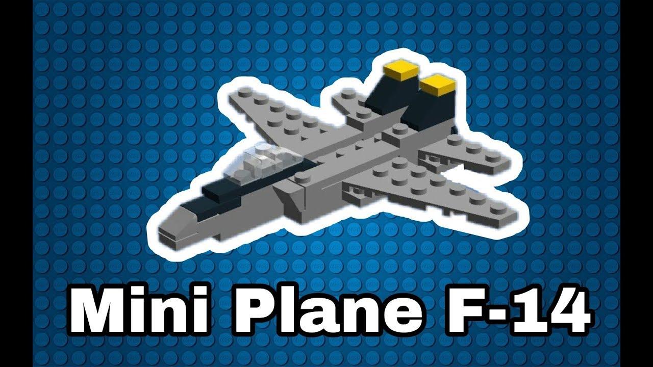 Как сделать мини самолёт из лего