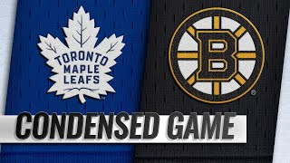 12/08/18 Condensed Game: Maple Leafs @ Bruins