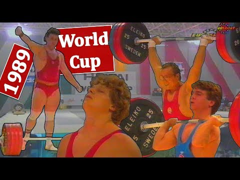 Weightlifting World Cup  1989 | Lisbon (POR)