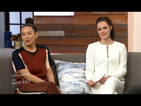 Tessa Virtue CTV Takeover The Social Full