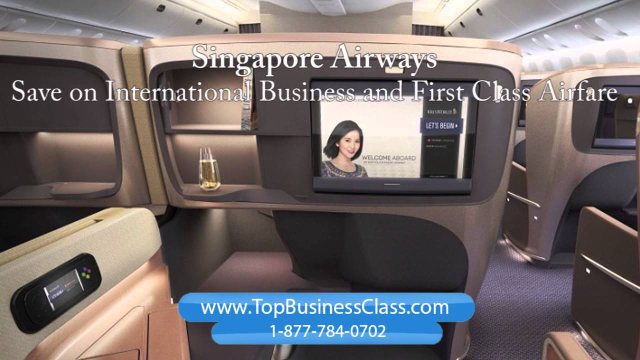 Singapore Airlines Business cl vs First cl Flights - www ...