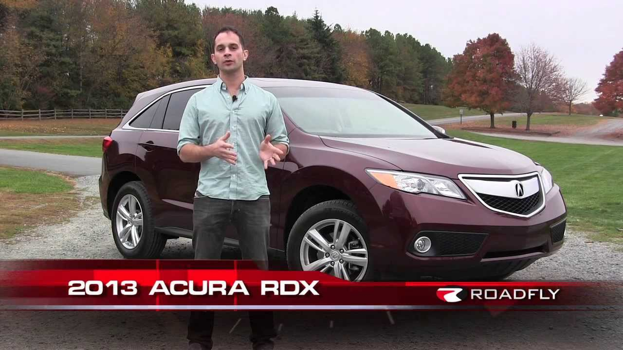 2013 Acura Rdx Review Amp Test Drive With Ross Rapoport By