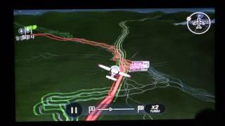 파인드라이브 IQ3S 네비게이션 플라잉뷰 작동 모습