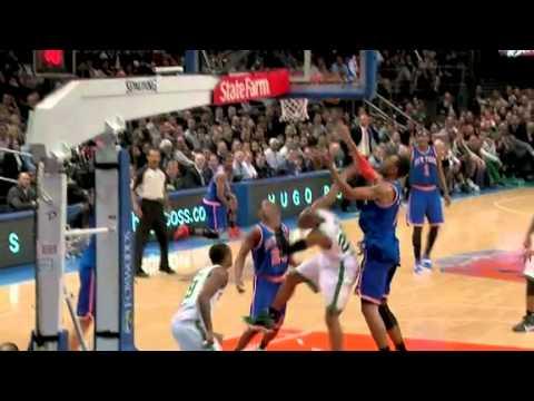 2010-11 Boston Celtics VS New York Knicks (Comeback Win!)
