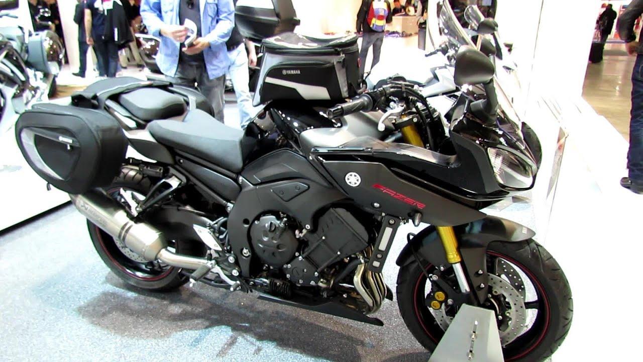 2014 Yamaha Fazer 8 Walkaround - 2013 EICMA Milano Motorcycle ...