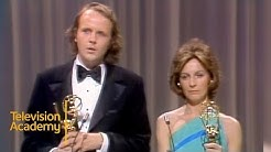 Michael Moriarty and Joanna Miles Win Supporting Actor and Actress Emmys   Emmys Archive (1974)