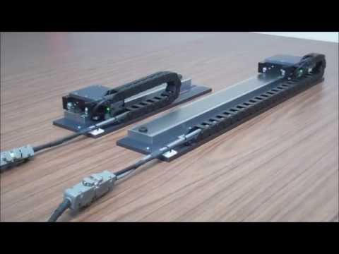 Closed Loop Hybrid (2 Phase Brushless) Linear Motor Stage