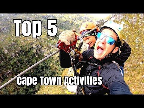 Top 5 Cape Town Activities!