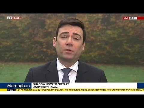 Andy Burnham On New Surveillance Plans