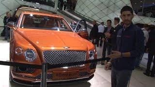 Bentley Bentayga   Salone di Francoforte 2015