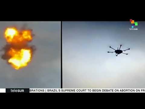 President Nicolas Maduro Reveals Evidence For Drone Attack