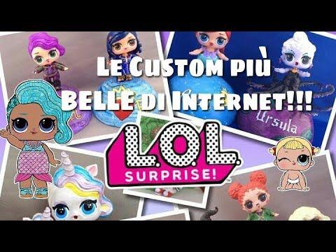 Le Lol Surprise Custom Più Belle Di Internet Scopriamo La Top Delle Più Kawaii Disney And More