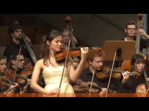 SPOHR Violin Competition: Sumina Studer | F. Mendelssohn Violin Concerto 1st movement