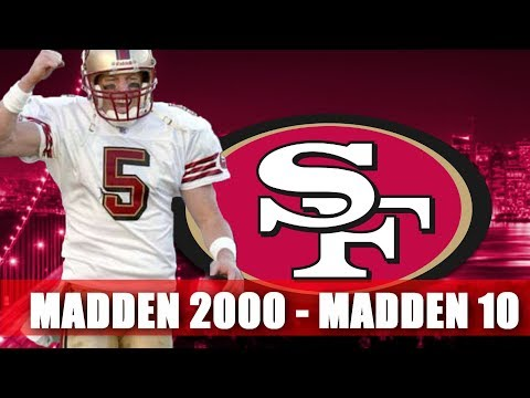 Jeff Garcia Though the Years - Madden 2000 - Madden 10
