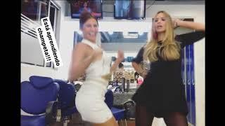Melissa Martinez bailando champeta