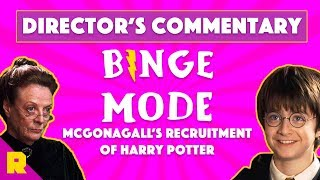 Binge Mode Analyzes McGonagall's Recruitment of Harry Potter | Director's Commentary | The Ringer