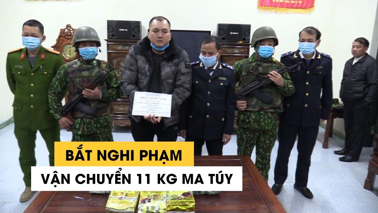Bắt nghi phạm vận chuyển 11 kg ma túy cho một người Lào