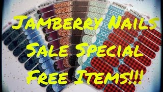Jamberry Nails Holiday Special Offer - Ends October 29th!!! Get free product and discounts!!!