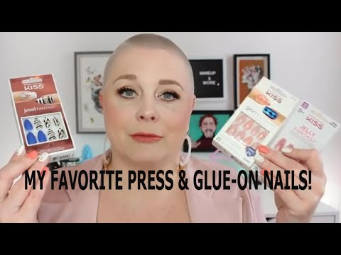 My Favorite Press & Glue-On Nails! Nicole Chantell