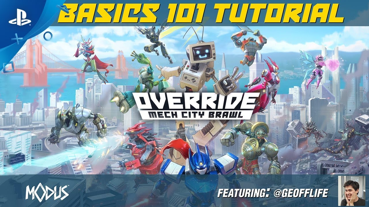 Override: Mech City Brawl - Basics 101 Tutorial | PS4