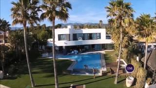 Los Monteros, Frontline Beach Villa for sale Marbella