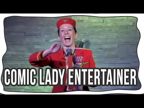 Comic Lady Entertainer  - Airhostess
