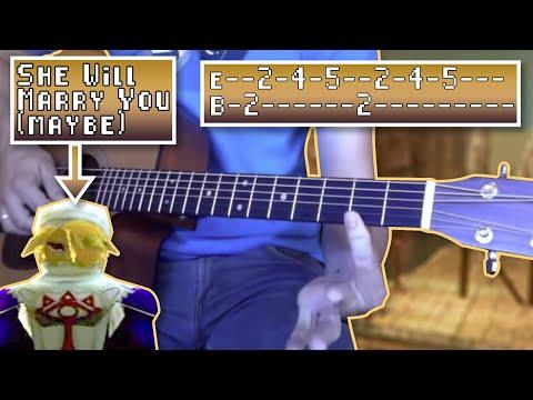 Gerudo Valley Guitar Tutorial