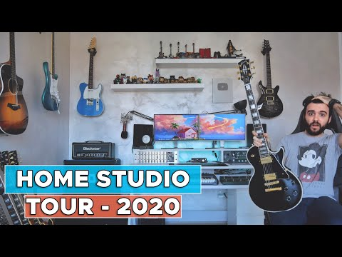 My NEW HOME and HOME STUDIO 2020 Tour!