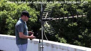 ANTENA NEO HD Y MEDIDOR DE CAMPO ALCAD
