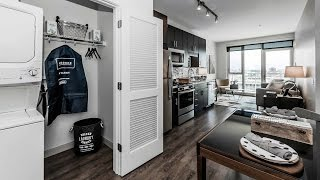 A walk through a one-bedroom model at Gateway West Loop