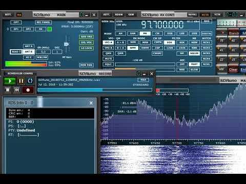 FM DX 97.7 MHz Radio Kosovo, heard in Finland