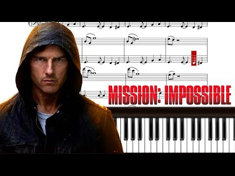 Mission Impossible Theme [Piano Notes Tutorial]
