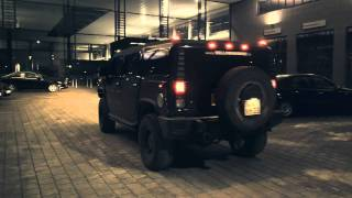Customized black on black HUMMER H2 loudest SUV ever FULL HD 1080p