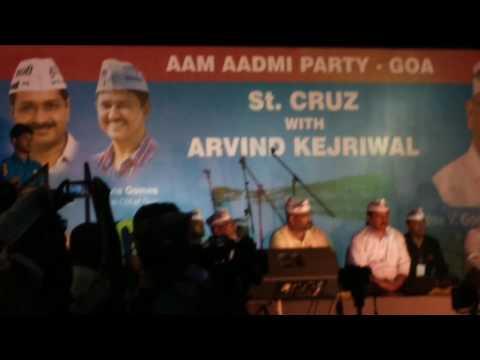 Speech of AAP Leader Dr. Kumar Vishwas in...