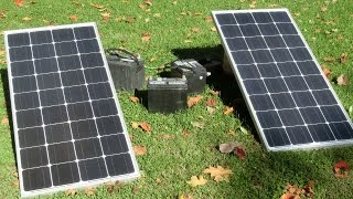 Random Bits 0058: 200w solar panel system