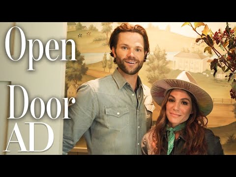 Inside Jared & Genevieve Padalecki's Family Farmhouse | Open Door | Architectural Digest