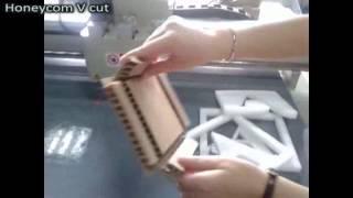 Aokecut@163.com Paper Box Sample Maker Flatbed Cutter Table Machine