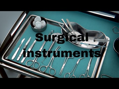 Basic Surgical Instruments And Their Uses - Graduates , Postgraduates || Mis.Medicine