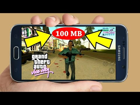 (100 MB)How To Download GTA Vice City Highly Compressed On Android For Free 2017