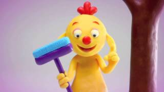 ClayPlay - Play Doh Stop Motion Animation - Broom Episode