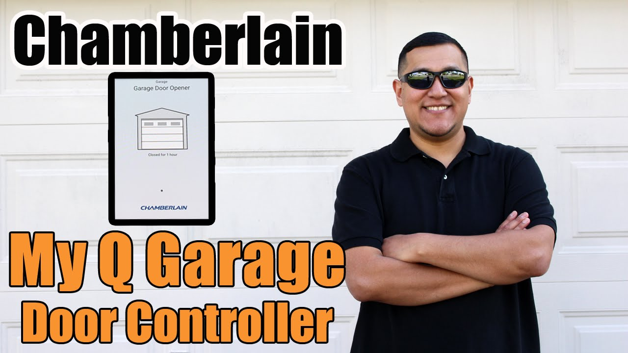 How To Install The Chamberlain Myq Garage Door Controller Control A Wiring Connections With Smartphone Youtube