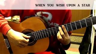 【ギターの時間】when you wish upon a star