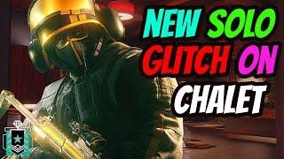 (OP) NEW SOLO GLITCH ON CHALET - GUARANTEED WIN  (Rainbow Six Siege)