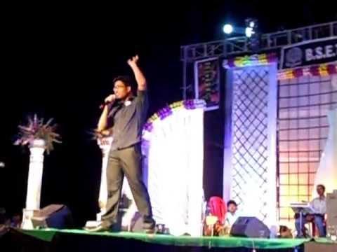 anchoring  3 by  baba  at BIET,BHADRAKH GAVISUS 2013