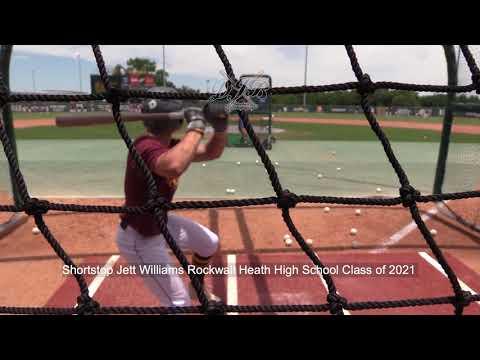 Shortstop Jett Williams Rockwall Heath High School Class of 2022