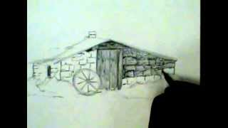 Landscape Design - Frontier Dwelling - Jonathan Hillmer Drawing demo 2 - Part 1.mov
