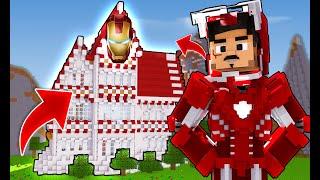 Minecraft Survival #03 - A Minha Casa será igual a do Homem de Ferro?